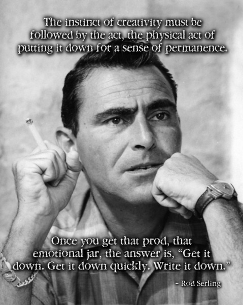 Serling on Writing
