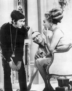 Steven Spielberg and Joan Crawford