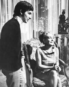 Steven Spielberg and Joan Crawford2